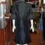 ชุดเสื้อกระโปรงผ้าไหมแพรทองเนื้อเงาสีดำ ไซส์ L thumbnail 3