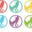 ฉลากเครื่องสำอางค์และสุขภาพอนามัย สไตล์การออกแบบดีไซน์แบบใช้สีสันที่สดุดตา ฉลากไว้ใช้แปะกับขวดครีมบำรุงเส้นผม // ตัวอย่างดีไซน์ สติ๊กเกอร์ฉลาก Chill Shop Package thumbnail 1