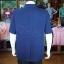 เสื้อสูทผ้าฝ้ายผสม สีกรมท่า ไซส์ S thumbnail 4