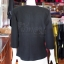 เสื้อคลุมผ้าฝ้ายสุโขทัยสีดำแต่งผ้าปักมือ ไซส์ XL thumbnail 3