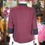 เสื้อคลุมผ้าฝ้ายสุโขทัยแต่งผ้าตีนจก ไซส์ M thumbnail 3