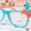 แว่นตาแฟชั่นเกาหลี กระต่ายฟ้าส้ม (ไม่มีเลนส์) thumbnail 1