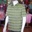 เสื้อสูทผ้าฝ้ายลายมัดหมี่สุโขทัย ไซส์ XL thumbnail 3