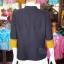 เสื้อคลุมผ้าฝ้ายสุโขทัยคอจีน ไซส์ M thumbnail 3