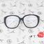 แว่นตาแฟชั่นเกาหลี วินเทจดำขาว (พร้อมเลนส์) thumbnail 1