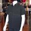 เสื้อเชิ้ตผ้าโอซาก้าสีดำ ไม่อัดผ้ากาว ไซส์ L thumbnail 2