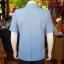 เสื้อสูทผ้าฝ้ายผสม สีฟ้าเทา ไซส์ XL thumbnail 2
