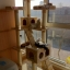MU0061 คอนโดแมวเจ็ดชั้น ขนาดใหญ่ ต้นไม้แมว มีบ้านอุโมงค์สองชั้น ของเล่นแขวน สูง 180 cm thumbnail 10