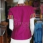 เสื้อผ้าฝ้ายสุโขทัยแต่งผ้ามุกสายรุ้ง อัดผ้ากาว ไซส์ L thumbnail 2