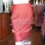 ชุดเสื้อกระโปรงผ้าฝ้ายสุโขทัยแต่งดอกกุหลาบ ไซส์ XL thumbnail 4