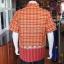 เสื้อเชิ้ตผ้าฝ้ายทอลายช้าง ไม่อัดผ้ากาว ไซส์ S thumbnail 2