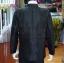 เสื้อสูทไหมแพรทองคอพระราชทานแขนยาว สีดำ ไซส์ 2XL thumbnail 4