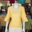 เสื้อผ้าฝ้ายสุโขทัย ปักมุก ไซส์ S thumbnail 1