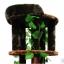 MU0117 คอนโดแมวขนาดใหญ่หกชั้น ต้นไม้แมว กระบะนอน ของเล่นแขวน มีเถาวัลย์ใบไม้พันรอบต้นไม้ เหมือนปีนบนต้นไม้ในป่า สูง 190 cm thumbnail 3