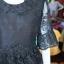 ชุดเสื้อกระโปรงผ้าไหมแพรทองแต่งลูกไม้ สีดำ ไซส์ 2XL thumbnail 5