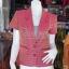 เสื้อคลุมผ้าทอลายดอกพิกุล อัดผ้ากาว ไซส์ M thumbnail 1