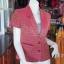 เสื้อคลุมผ้าทอลายดอกพิกุล อัดผ้ากาว ไซส์ M thumbnail 4