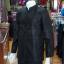 เสื้อสูทไหมแพรทองคอพระราชทานแขนยาว สีดำ ไซส์ M thumbnail 3