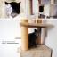 MU0007 คอนโดแมวหกชั้น ต้นไม้แมว ขนาดใหญ่ cat tree มีกล่องและอุโมงค์เล่นซ่อนหาและงีบพักผ่อน สูง 240-275 cm thumbnail 8