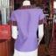 เสื้อผ้าฝ้ายสุโขทัยแต่งผ้ามุกสายรุ้ง อัดผ้ากาว ไซส์ S thumbnail 3