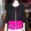 เสื้อคลุมผ้าฝ้ายสุโขทัยสีดำแต่งผ้าปักมือ ไซส์ XL thumbnail 1