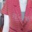 เสื้อคลุมผ้าทอลายดอกพิกุล อัดผ้ากาว ไซส์ M thumbnail 2