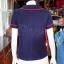 เสื้อผ้าฝ้ายสุโขทัยสีกรมท่า แต่งกุ๊น ไซส์ S thumbnail 3