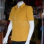 เสื้อสูทไหมแพรเงิน สีเหลืองทอง ไซส์ S thumbnail 2