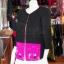 เสื้อคลุมผ้าฝ้ายสุโขทัยสีดำแต่งผ้าปักมือ ไซส์ XL thumbnail 2