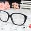 แว่นตาแฟชั่นเกาหลี วินเทจดำขาว (พร้อมเลนส์) thumbnail 2