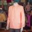 เสื้อสูทไหมแพรทองคอพระราชทานแขนยาว ไซส์ XL thumbnail 2