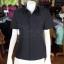 เสื้อสูทผ้าโอซาก้า สีดำ ไซส์ SS thumbnail 1