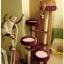 MU0080 คอนโดแมวสี่ชั้น ต้นไม้แมว มีบ้านอุโมงค์เบันได กระบะนอน ของเล่นแขวน สูง 152 cm thumbnail 3