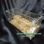 กล่องอครีลิค ใส่อาหารนกแบบ 3 ช่อง thumbnail 1
