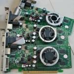 การ์ดจอใช้งานทั่วไป PCI-E คละรุ่น
