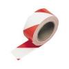 เทปตีเส้น สีขาวแดง กว้าง 2 นิ้ว ยาว 33 เมตร แบบมีกาว