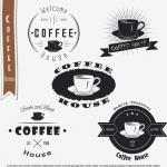 ฉลากอาหาร ของกิน สไตล์การออกแบบดีไซน์แบบเรียบๆแต่มีสไตล์ ฉลากไว้ใช้แปะกับแพคเกจกล่องกาแฟ,แก้วกาแฟ // ตัวอย่างดีไซน์ สติ๊กเกอร์ฉลาก Chill Shop Package
