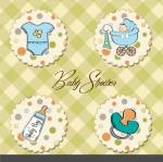 ฉลากแม่และเครื่องใช้ของเด็ก สไตล์การออกแบบดีไซน์แบบใช้สีสันที่สดุดตาสวยงาม ฉลากไว้ใช้แปะกับของใช้เด็ก // ตัวอย่างดีไซน์ สติ๊กเกอร์ฉลาก Chill Shop Package