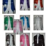 เสื้อคลุมแขนยาวมีกระเป๋า คละสี ยกแพ็ค มี 10 ตัว