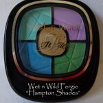 **พร้อมส่งค่ะ** wet n wild fergie eyeshadow shades of the hamptons 34140