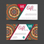 คูปองสินค้า การส่งเสริมการขาย การลดราคา สไตล์การออกแบบดีไซน์แบบใช้สีสันที่สวยงามหรูหรา คูปองไว้ใช้กับ การให้ส่วนลดแก่ลูกค้าเพื่อดึงดูดใจลูกค้าให้กลับมาซื้อซ้ำ // ตัวอย่างดีไซน์ คูปองสินค้า Chill Shop Package
