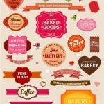 ฉลากอาหาร ของกิน สไตล์การออกแบบดีไซน์แบบใช้สีหวานๆ ฉลากไว้ใช้แปะกับแพคเกจเบอเกอรี่,ขนม,เค้ก // ตัวอย่างดีไซน์ สติ๊กเกอร์ฉลาก Chill Shop Package