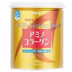 Meiji Amino Collagen CoQ10 Rice-200 กรัม เสริมสร้างโปรตีนคอลลาเจน - ปรับโครงสร้างของผิวให้แข็งแรง - ช่วยฟื้นฟูผิว