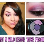 **พร้อมส่งค่ะ** wet n wild fergie eyeshadow Rose Parade 34283