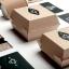 ไอเดียสำหรับการพิมพ์ สติ๊กเกอร์ฉลากสินค้า // สไตล์การออกแบบ ดีไซน์แบบเรียบๆ แต่มีสไตล์ ฉลากไว้ใช้สำหรับ แปะกล่องกระดาษ กล่องขนม thumbnail 1