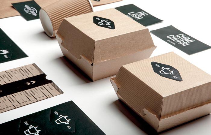 ไอเดียสำหรับการพิมพ์ สติ๊กเกอร์ฉลากสินค้า // สไตล์การออกแบบ ดีไซน์แบบเรียบๆ แต่มีสไตล์ ฉลากไว้ใช้สำหรับ แปะกล่องกระดาษ กล่องขนม