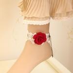 Anklet Roses Fancy สร้อยข้อเท้าดอกกุหลาบ