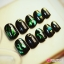 เล็บปลอม S-113 Japanese green glass Premium thumbnail 3