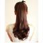 hair piece ทนความร้อนเกาหลี(สีดำ) thumbnail 2