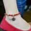 สร้อยข้อเท้า Hand-woven red string band Natal thumbnail 1